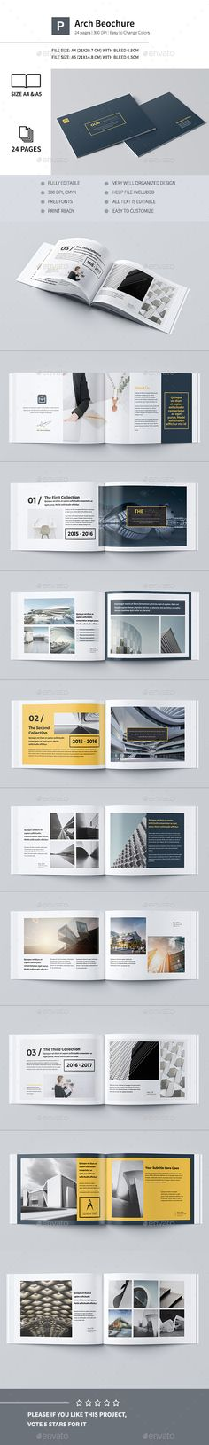 Our Portfolio Architecture 24 Pages A4 & A5 Template InDesign INDD. Download here: http://graphicriver.net/item/our-portfolio-architecture-24-pages-a4-a5/16254091?ref=ksioks