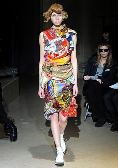 dress made of scarves - Szukaj w Google
