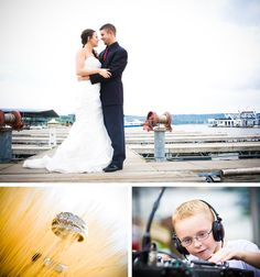 Wedding at the Lake! Photos by Ashley Athey Photography