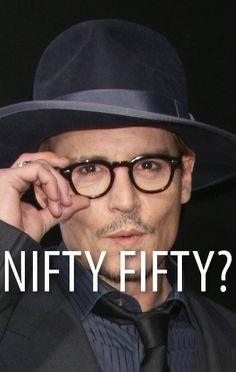 Can you believe Johnny Depp is 50? He visited Ellen to talk about his new film Transcendence. http://www.recapo.com/ellen-degeneres-show/ellen-interviews/ellen-johnny-depp-transcendence-turning-50-painting-elephants/