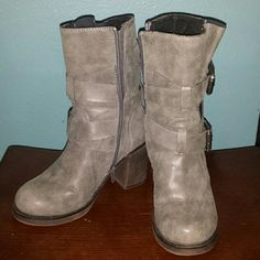 Fall ankle boots Sexy Grey ankle boots Rocket Dog Shoes Ankle Boots & Booties