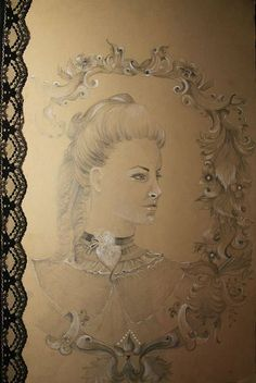 Victorian drawing