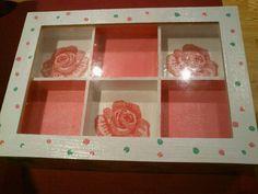 #roses #box #decoupage