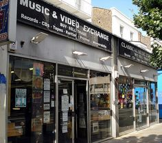 There are many thrift stores in London, so how do you know which ones are best? We've accumulated our top 7 thrift stores in the capital, just for you. Shop Signage, Vinyl Store, Kiosk Design, Buy Sell Trade, Vintage Records, Vinyl Records, Thrifting, Music Videos, Notting Hill
