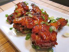 asian sticky wings - Budget Bytes