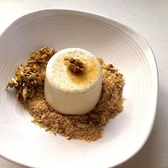 evie and ginger coconut pannacotta