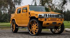 Hummer on Forgiato Wheels - Big Rims - Custom Wheels Hummer H3, New Hummer, Hummer Truck, Rims For Cars, Suv Cars, Custom Wheels, Custom Cars, Lifted Trucks, Luxury Cars