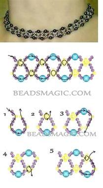 BiserStyle - бисер, бисероплетение, схемы #JewelryIdeas