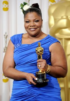 Mo'Nique -   In 2009, Mo'Nique appeared in the film Precious and won numerous awards including the Academy Award for Best Supporting Actress.