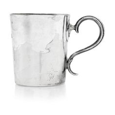 An century colonial mug with maker's mark for Henry Cowper of Gibraltar, HC, key, HC, key Makers Mark, 18th Century, Colonial, Auction, Key, Mugs, Silver, Unique Key, Tumblers
