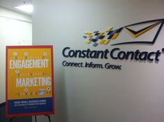 Engagement Marketing book signing at Constant Contact in Waltham, MA!