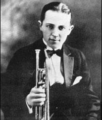 "Leon Bismark ""Bix"" Beiderbecke (March 1903 -- August was an American jazz cornetist, jazz pianist, and composer. A native of Davenport, Iowa. Louis Armstrong, Roaring Twenties, The Twenties, Bix Beiderbecke, Hoagy Carmichael, Jazz Trumpet, Instruments, Music Writing, Jazz Art"