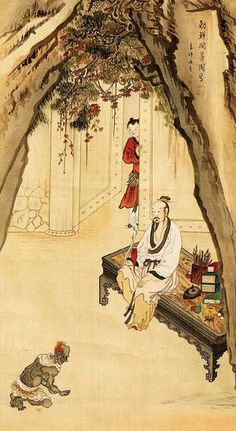 (Korea) A character in an old story by Shin Yun-bok ? ca century CE. color on silk. Korean Painting, Chinese Painting, Chinese Art, Modern Pictures, Korean Traditional, Buddhist Art, Korean Artist, Asian Art, Art History