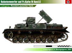 Pz.Kpfw IV Ausf.C mit Raketenwerfer