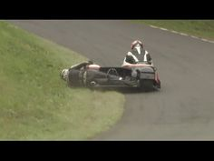 HOW TO corner a Sidecar! Scarborough Gold Cup 2014! Epic Road Racing - YouTube