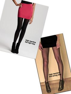 (LL) Tights 101 (How to wear tights the right way) by The Style Elite.