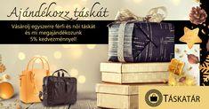 Vásárolj egyszerre férfi és női táskát és mi megajándékozunk 5% kedvezménnyel! Személyes átvételi lehetőség, így az utolsó napok kapkodásában nem kell azon aggódnod, hogy a futár kiszállítja e időben az ajándékokat.