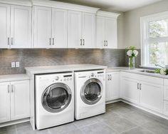 Laundry, Contemporary Laundry Room, Toronto