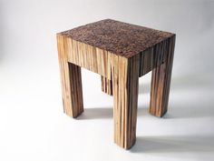 Recycled Bamboo table