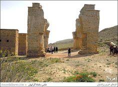 Fire Temple of Atashkuh dating to the Sasanian Empire, located in Mahallat - IRAN