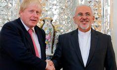 #BorisJohnson arrives in #Iran to discuss release of #NazaninZaghariRatcliffe
