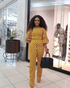 African Print Jumpsuit, Ankara Jumpsuit, Ankara Dress, Latest African Fashion Dresses, African Print Fashion, African Prints, African Attire, African Dress, Beautiful Ankara Styles