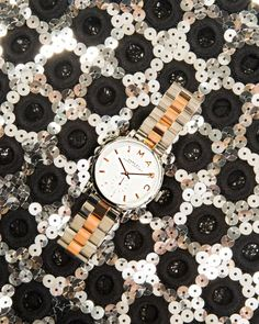 Marc by Marc Jacobs Rose Gold & Silver Watch