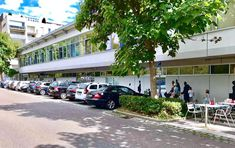 Außenansicht vom Kaufpark Freiberg (Stuttgart) mit den zahlreichen, kostenlosen Parkplätzen direkt vor der Tür! Street View, Stuttgart, Parking Space, Shopping