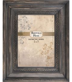 4''x6'' Distress Black Frame