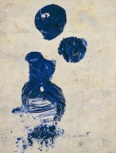 Anthropometry, 1960-66 – Yves Klein (1928–1962) International Klein Blue, Monochrome, Yves Klein Blue, Sculpture, French Artists, Les Oeuvres, Collages, Pop Art, Contemporary Art