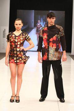 """Melanie Romero, Finalista Concurso """"Yo, el joven creador de moda"""" - BAAM Primavera Verano 2012/13"""