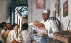 pinturas de puerto rico   ... del Maestro Rafael, de Francisco Oller en Kalipedia Puerto Rico