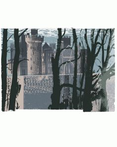 Arundel through Trees by Andy Lovell