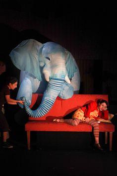 The Elephantom– National Theatre Director Finn Caldwell and Toby Olie Designer Samuel Wyer Lighting Designer Matt Daw