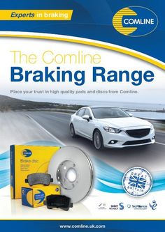 An overview of the Comline Braking Range Social Networks, Social Media, Brochure Cover, Aftermarket Parts, Sale Promotion, Cover Pages, Truck Parts, Britain, Range