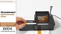 Zorr Powermatic 2 Plus Elektrische Stopfmaschine video von stopfmaschineshop.com