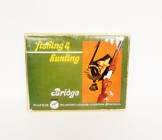 Fishing and Hunting Bridge card set with by MyHighStreetBoutique