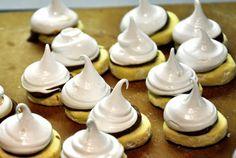 Marshmallow Nutella Cookies