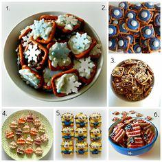 Sugar Swings! Serve Some: Super Hero Pretzel Snacks