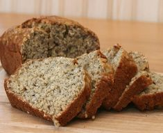 Try this delicious porridge bread recipe. Perfect for breakfasts or a healthier lunch. This fool proof recipe is so easy to make! Banana Bread French Toast, Healthy Banana Bread, Banana Bread Recipes, Healthy Dessert Recipes, Healthy Desserts, Unislim Recipes, Oats And Honey, Food To Make, Tasty