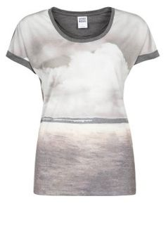 CLOUD - Print T-shirt - grey