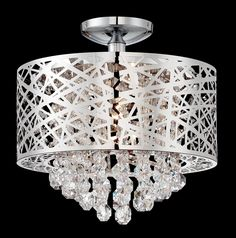 Hinckley 4 Light Semi Flush Mount