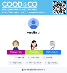 Ich habe soeben Good&Cos-Persönlichkeitstest abgeschlossen und meine persönlichen Stärken herausgefunden. Was sind deine?