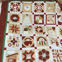Christmas Sewing, Christmas Projects, Christmas Quilting, Christmas Snowman, Merry Christmas, Xmas, Quilting Projects, Quilting Designs, Quilting Ideas