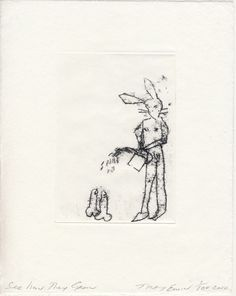 Tracey Emin See how They Grow 2010 Polymer gravure on Japanese Hodomura paper 25 x 20 cm Edition of 100 Tracey Emin, Royal Academy Of Arts, English Artists, Mystique, Human Condition, Limited Edition Prints, Line Art, Illustration Art, Illustrations