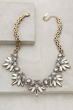 Anthropologie LAVANDE BIB NECKLACE #anthrofave