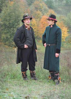 Samogitian folk costume from Lithuania