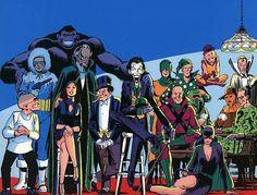 Dc Comics Bronze Age Villains