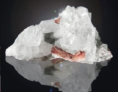 Amazing Energy Healing Crystals and Minerals mine direct to you! Crystals Minerals, Rocks And Minerals, Quartz Cluster, Crystal Healing, Charms, Gemstones, Red, Design, Gems