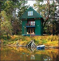 Whidbey Island cabin via Pacific Northwest Magazine